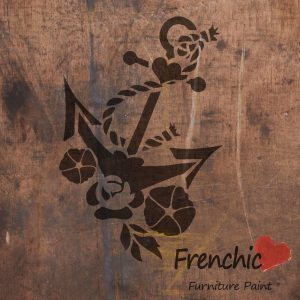 Frenchic Stencil Anchors Away