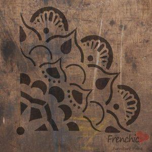 Frenchic Stencil Bohemian Carousel
