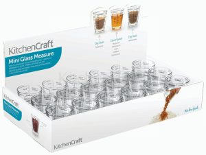 KitchenCraft Glass Mini Measuring Jug