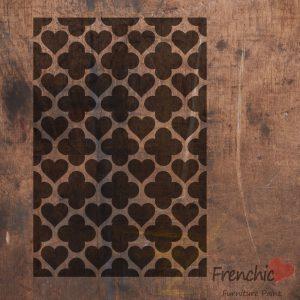 Frenchic Stencil Hearts Of Morocco