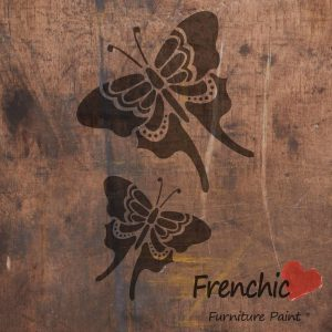 Frenchic Stencil Butterflies
