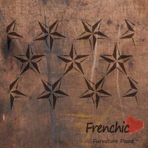 Frenchic Stencil Barn Star Repeat