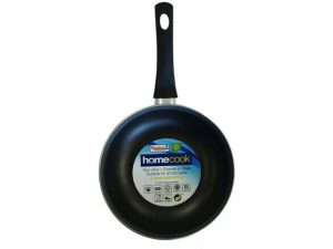 Non-Stick Frying Pan Enamel Steel 20cm Cream