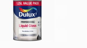 Dulux Professional Liquid Gloss Pure Brilliant White 1.25L