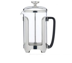 French Press Cafetiere Stainless Steel 6 Cup