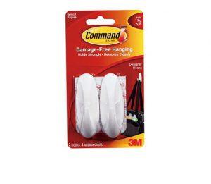 Command Medium General Purpose Hooks x 2