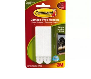 Command Large Picture Strips x 4
