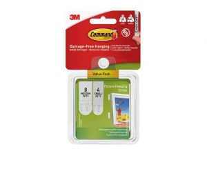 Command Picture Hanger 8 x Medium and 4 x Small