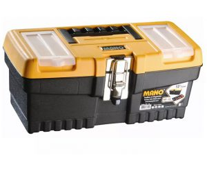 Mano Toolbox + Metal Latch 13in
