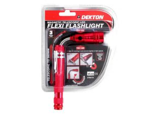 Dekton Magnetic Flexi Pick Up Tool and LED