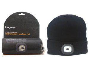 USB Rechargable Headlight Hat