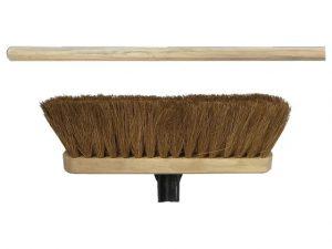 Natural Coco Broom Head 290mm + Handle
