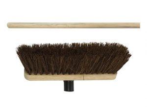 Natural Bassine Broom Head 290mm + Handle