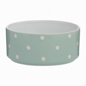 Mason Cash Pet Bowl Polka Dot Sage 18cm