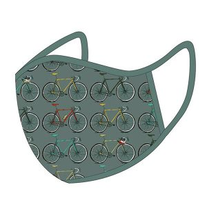 The Art File Face Mask Bicycles Size L