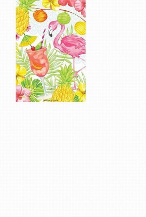 Flamingo Party Large Scented Sachet