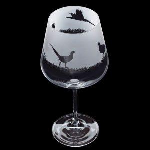 Dartington Glass Aspect Copa Pheasant