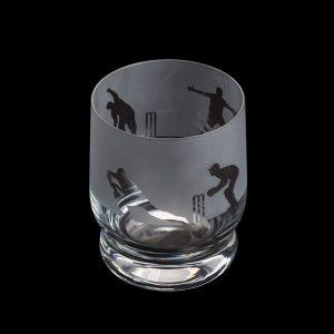Dartington Glass Aspect Tumbler Cricket