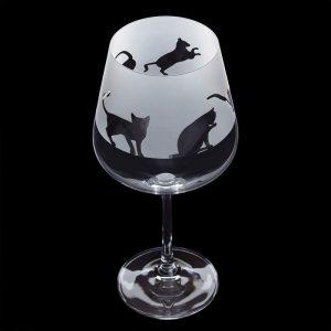 Dartington Glass Aspect Copa Cats
