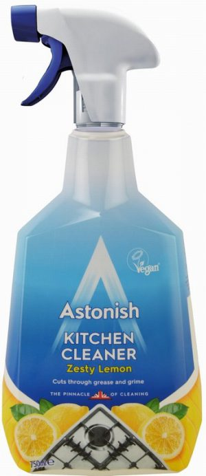 Astonish Kitchen Cleaner Zesty Lemon 750ml