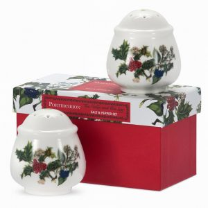Portmeirion The Holly and the Ivy Salt and Pepper Set