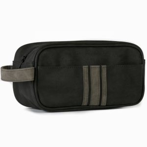 Brompton & Langley – Charcoal Small Wash Bag