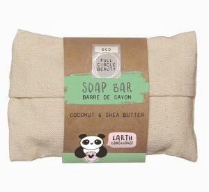 Danielle Eco Panda Coconut & Shea Butter Soap Bar in a Bag