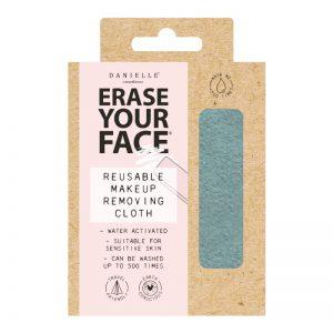 Danielle Erase Your Face Eco Makeup Removing Cloth – Pastel Blue