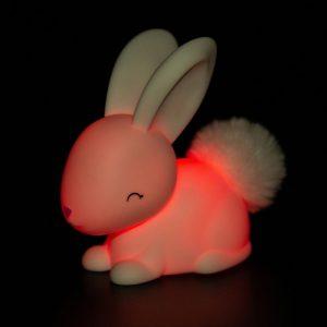 White Bunny Night Light