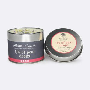 Potters Crouch Candle 1/4 Of Pear Drops