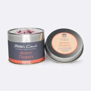 Potters Crouch Candle Desert Flowers