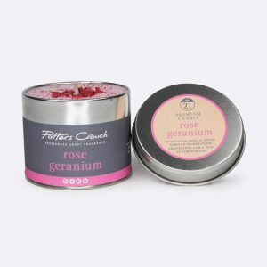 Potters Crouch Candle Rose Geranium
