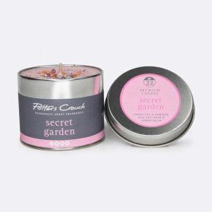 Potters Crouch Candle Secret Garden