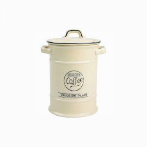 Pride Of Place Coffee Jar Old Cream