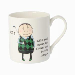 Rosie Made A Thing Mug Golf