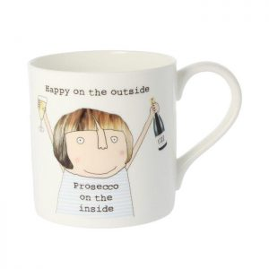 Rosie Made A Thing Mug Prosecco On The Inside