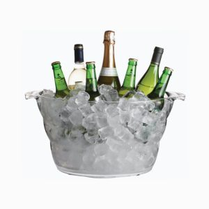 Bar Craft Drinks Pail Clear