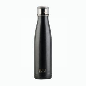 Built Water Bottle Charcoal Grey 17oz