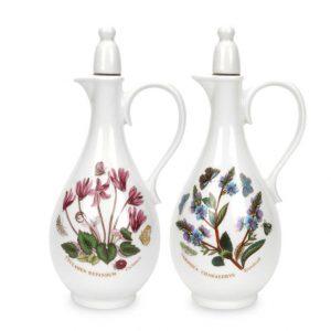 Portmeirion Botanic Garden Oil and Vinegar (Romantic Shape)