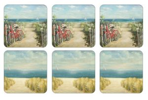 Pimpernel Summer Ride Coasters Set Of 6