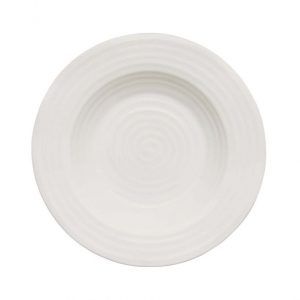 Sophie Conran for Portmeirion White Rimmed Soup Plate