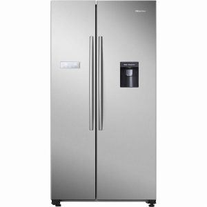 Hisense RS741N4WC11 American Style Fridge Freezer – Stainless St