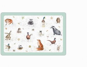 Wrendale Designs- Country Animal Flexible Placemat