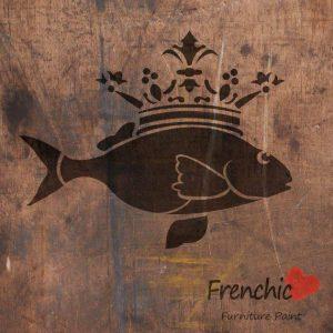 Frenchic Stencil The Fish Prince