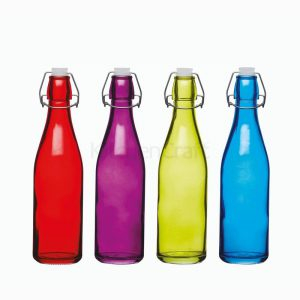 Colourworks Glass Bottle 500ml Assorted Colours