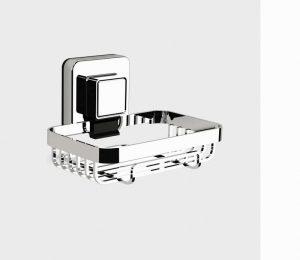 Showerdrape Pushloc Soap Basket- Chrome