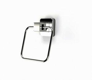Showerdrape Pushloc Towel Ring- Chrome