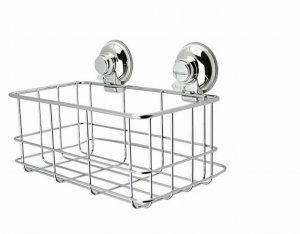 Showerdrape Vertex Bottle Basket- Chrome