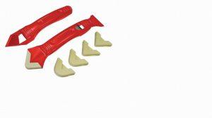 Silicone Scraper Kit Two Piece