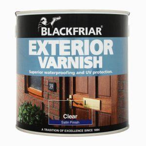 Blackfriar Exterior Varnish Satin Clear 250ml